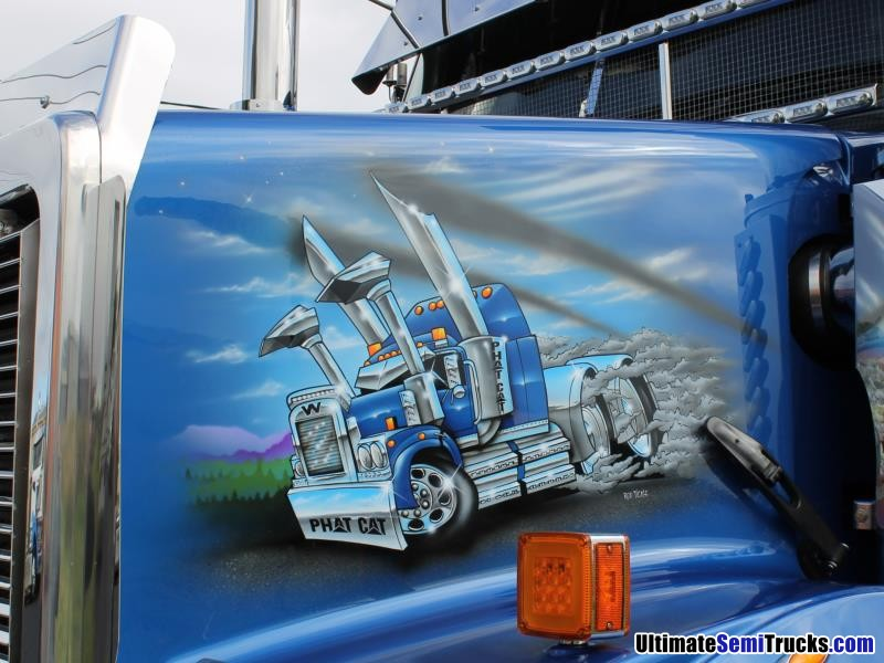 North QLD Truck & Machinery Movements Airbrushed Western Star
