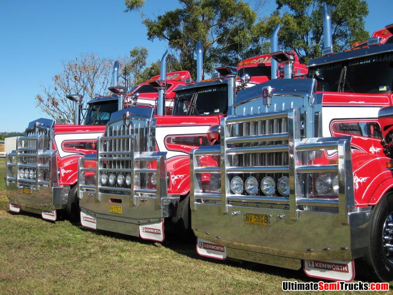 Causley Transport on  display at the Lismore Truck Show