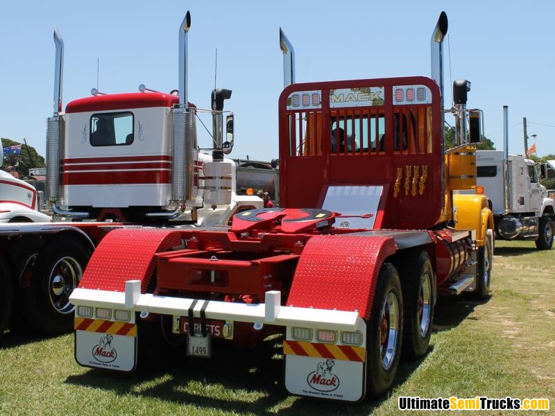 Rear View Corbets Mack Superliner