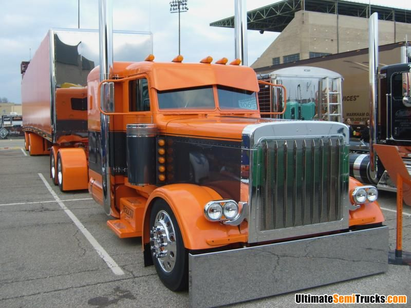 Custom Peterbilt combo from the 2008 Mid America Truck Show