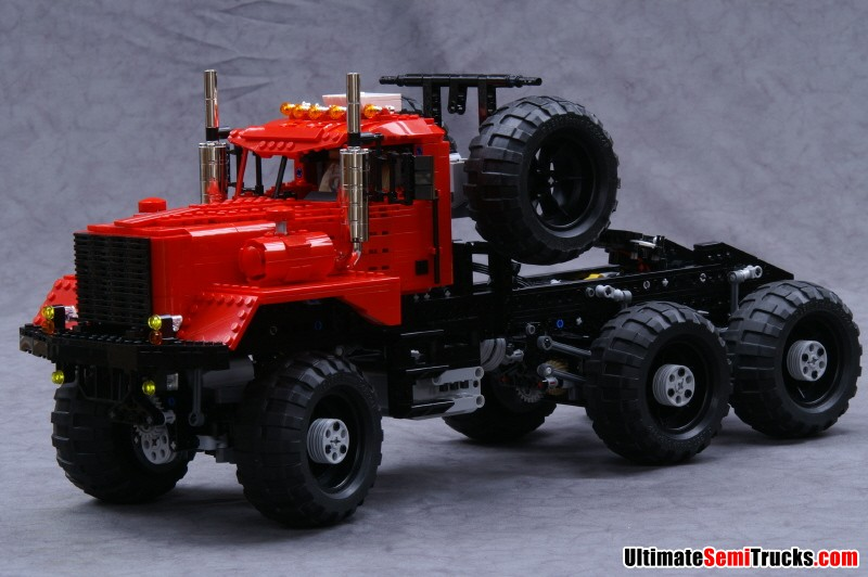 UltimateSemiTrucks.com: Lego Kenworth 953 6x6 Oil Field ...