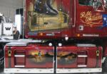 Airbrushed art R/H side of the RM Williams Longhorn Western Star